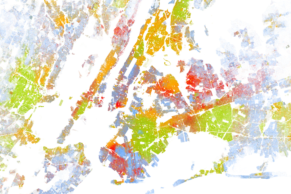 EthnicPopulation Density Map GEOGRAPHY EDUCATION - Population density us cities map