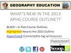 APHG outline