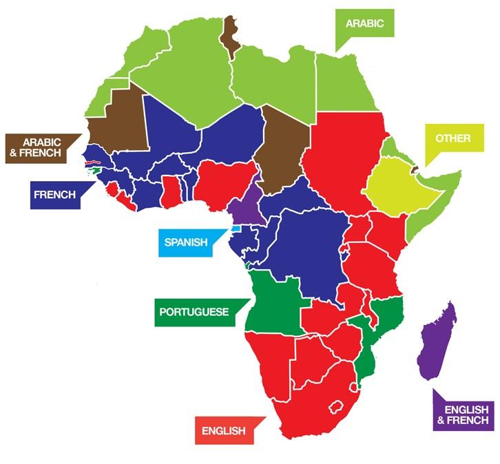 how to speak african words