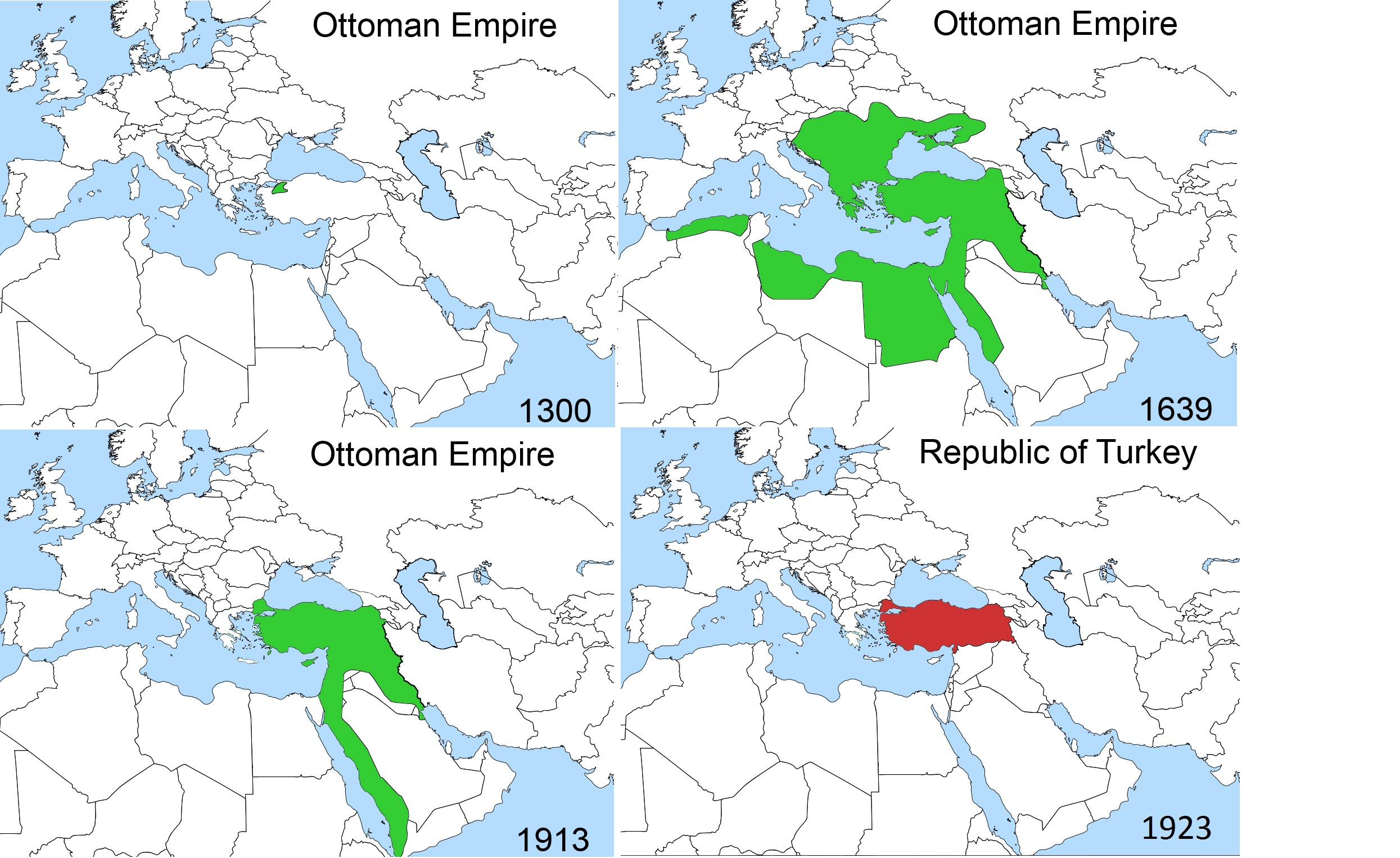 Historiography of the fall of the Ottoman Empire
