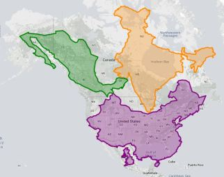 The true size of … – GEOGRAPHY EDUCATION