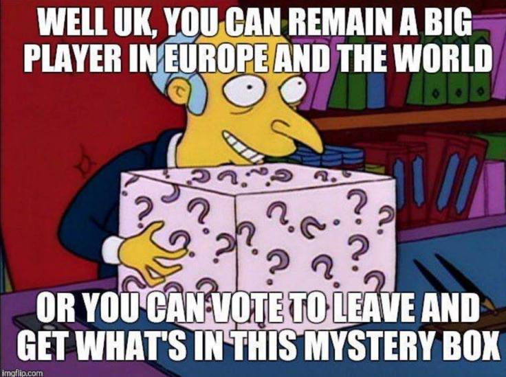 Brexit-Mystery Box