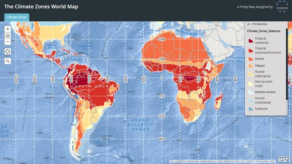 Interactive Climate Map GEOGRAPHY EDUCATION - Interactive map of world