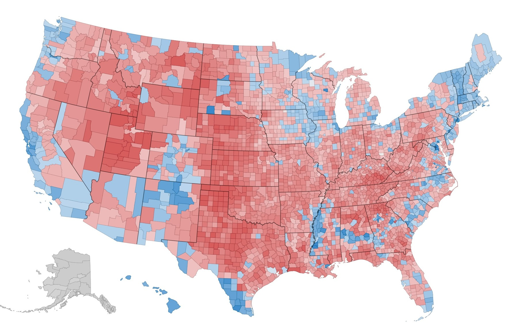 What This 2012 Map Tells Us About America and the Election