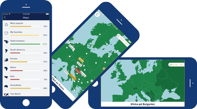 Seterra Is A Map Quiz Game, Available Online And As An App For IOS An  Android. Using Seterra, You Can Quickly Learn To Locate Countries,  Capitals, ...